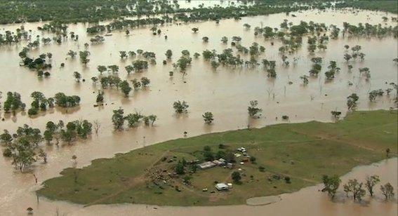 オーストラリアの洪水