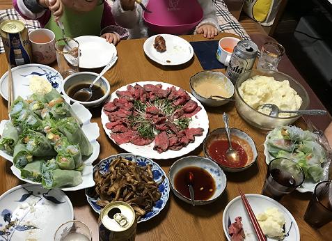 20171229晩ご飯