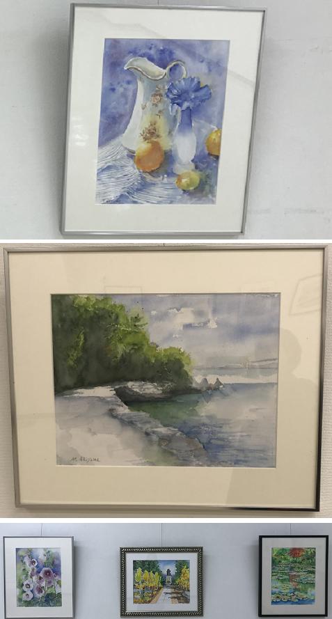 20180119水彩画展8