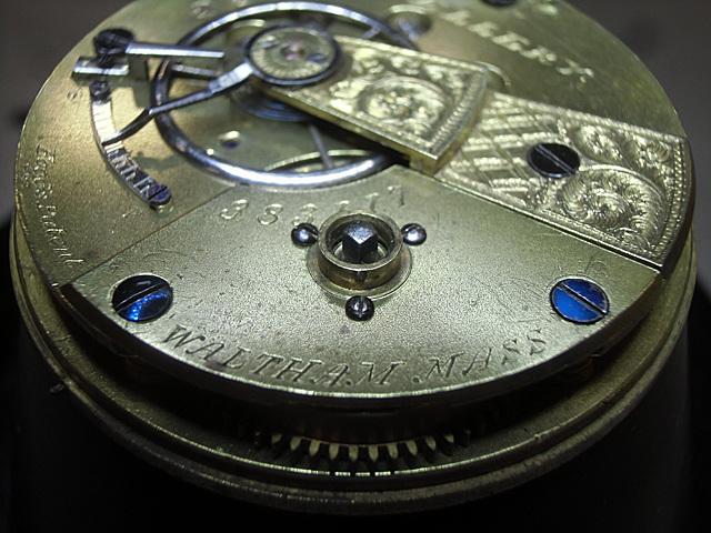 24-鉤式ゼンマイの懐中時計