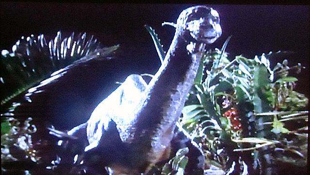 かわいいブロントサウルス