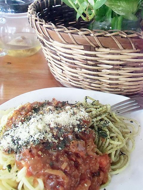 三色スパゲティ