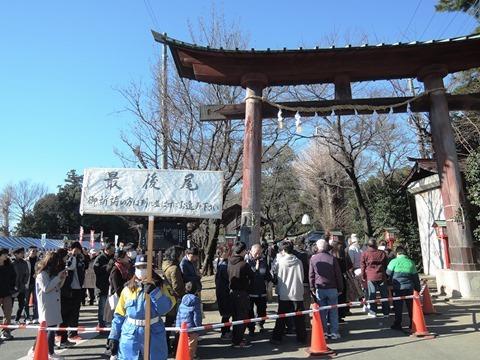 鷲宮神社初詣10