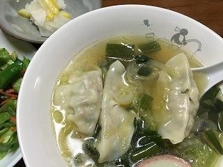 ギョウザスープ