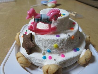 姫12歳のお誕生日ケーキ