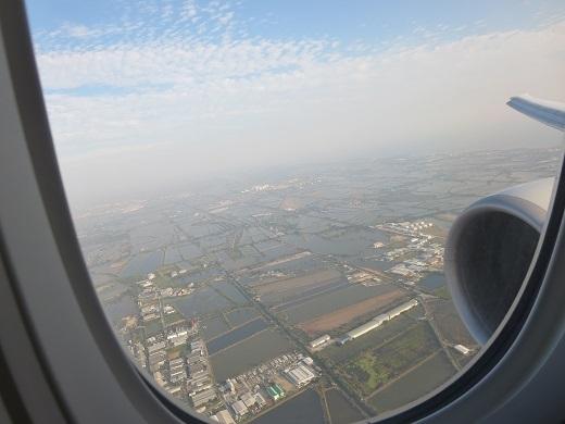 タイに着く