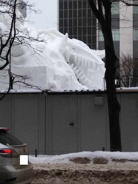 20180203用・雪まつり準備