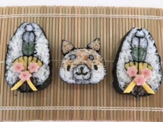 柴犬と門松ブログ用