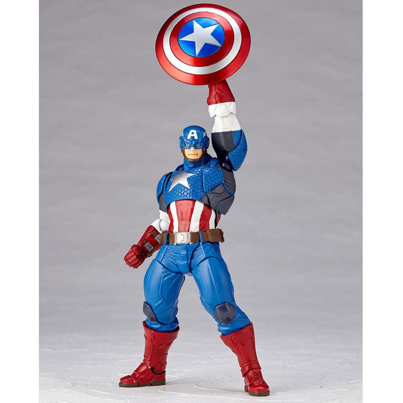 フィギュアコンプレックス アメイジング・ヤマグチ Captain AmericaFIGURE-034046_12