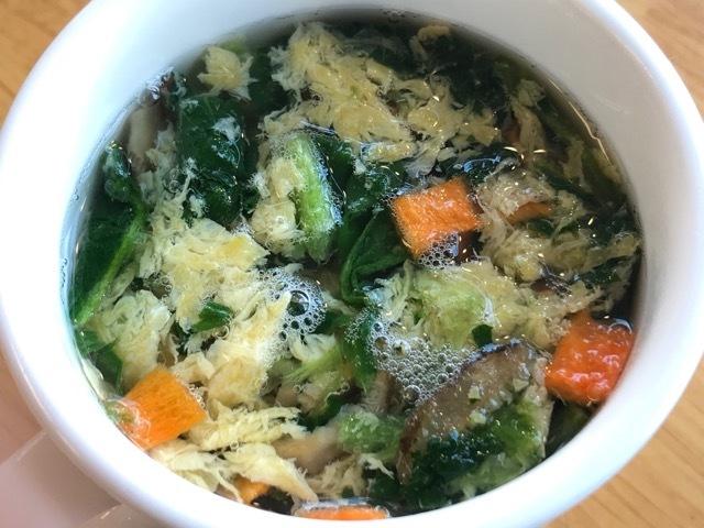 野菜とたまごスープ (5)