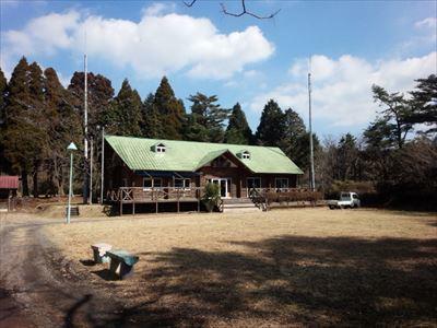 本館前キャンプサイト