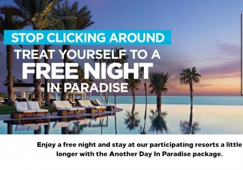 ヒルトンオーナーズ アメリカとカリブ海のキャンペーン参加リゾートで4泊目か5泊目無料
