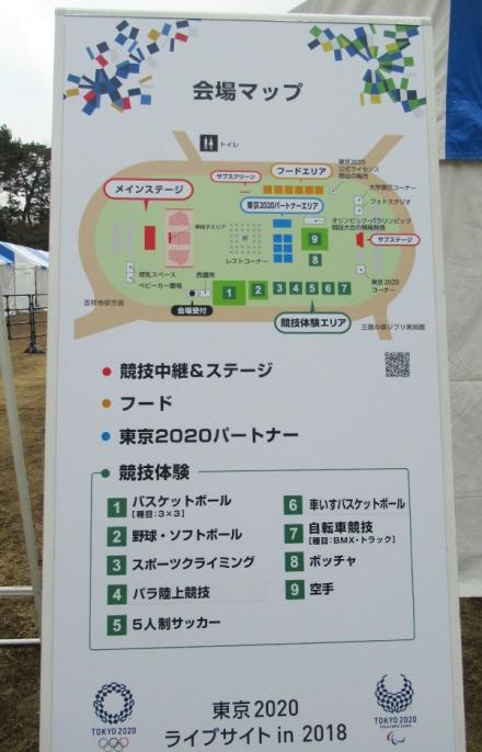 井の頭公園でオリンピック