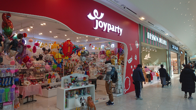韓国 ショッピングモール