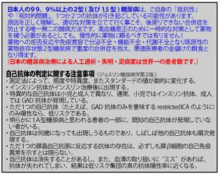 日本の糖尿病患者の「99.9%」は2型糖尿病です