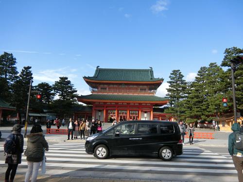 平安神宮、その1!