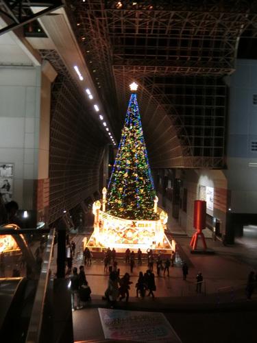 京都駅内吹き抜け! その1。