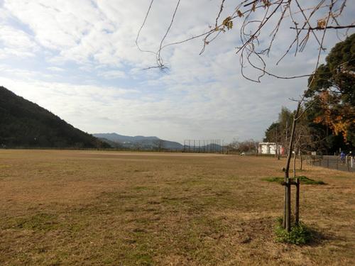 片渕公園で。