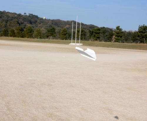 折り紙機、飛んでるトコ~! その2。