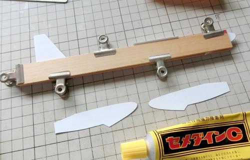 N-1650、積層胴の組み立て、その13。