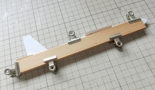 N-1650、積層胴の組み立て、その14。