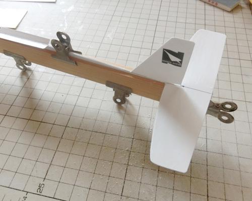 N-1650、積層胴の組み立て、その16。