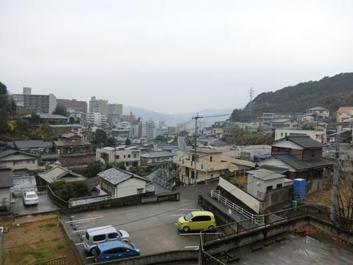 長崎の大晦日は雨だった。