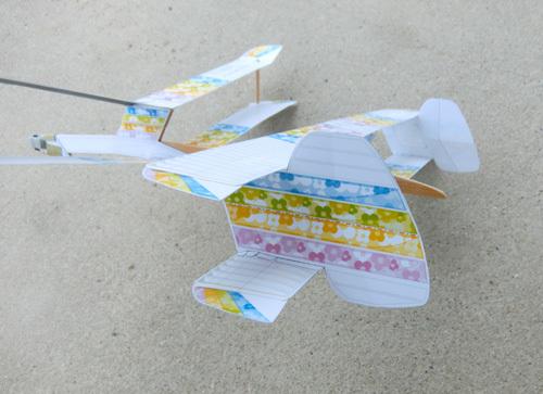 Wスピット、改造後の垂直尾翼。