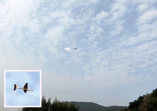 カブⅢの飛んでるトコ。 その1!
