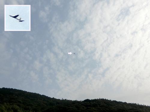 カブⅢの飛んでるトコ。 その2!