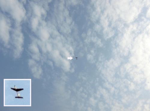 カブⅢの飛んでるトコ。 その3!