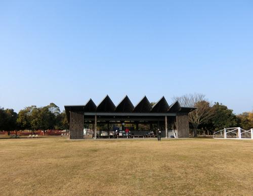 吉野ケ里歴史公園、芝生広場。