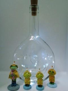使用例 マティウスのロゼの空き瓶