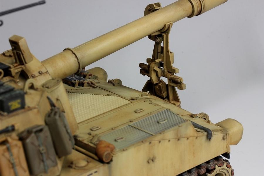 M109パラディン自走砲-6