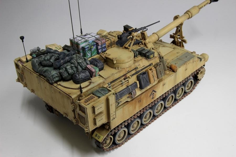 M109パラディン自走砲-7