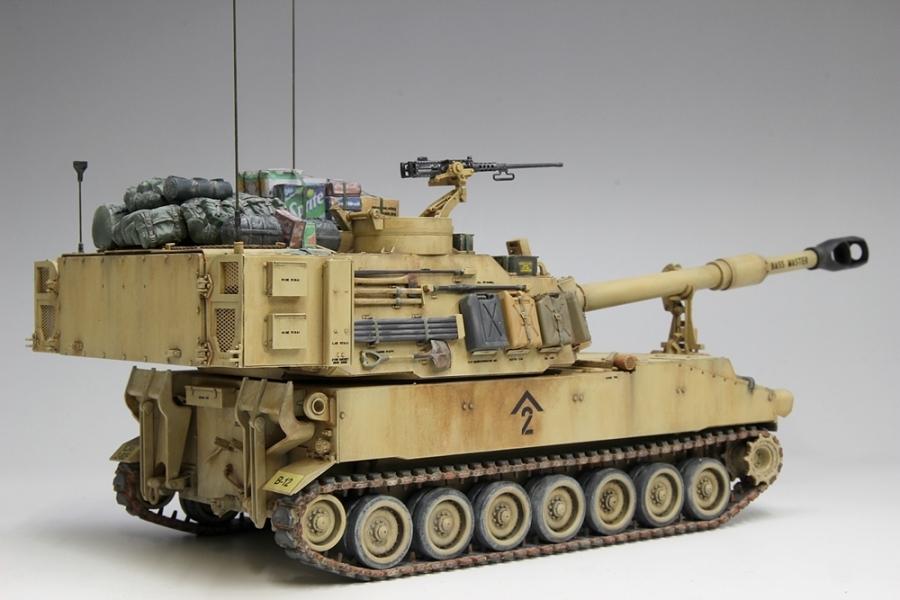 M109パラディン自走砲-9
