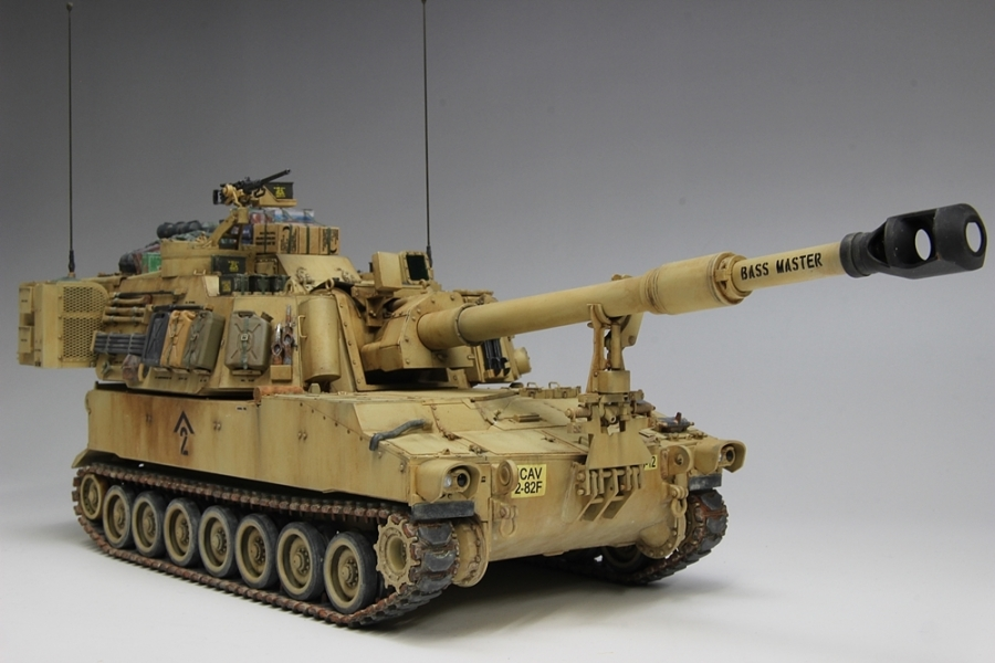M109パラディン自走砲-13