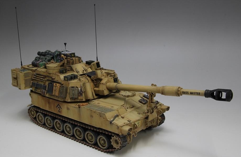 M109パラディン自走砲-14