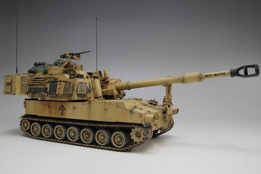 M109パラディン自走砲-15
