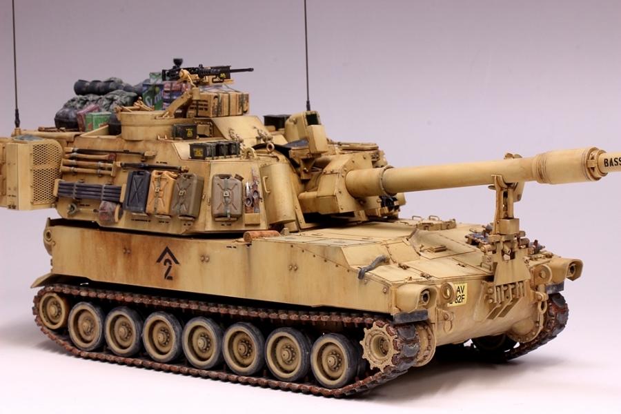 M109パラディン自走砲-20