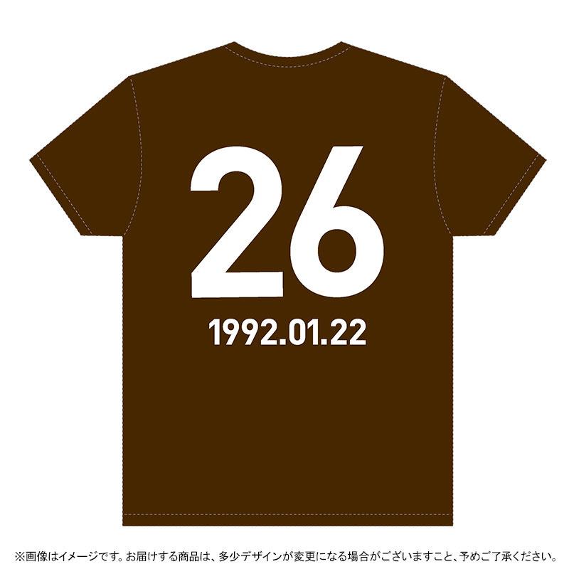 乃木坂46新内眞衣2018生誕Tシャツ 裏