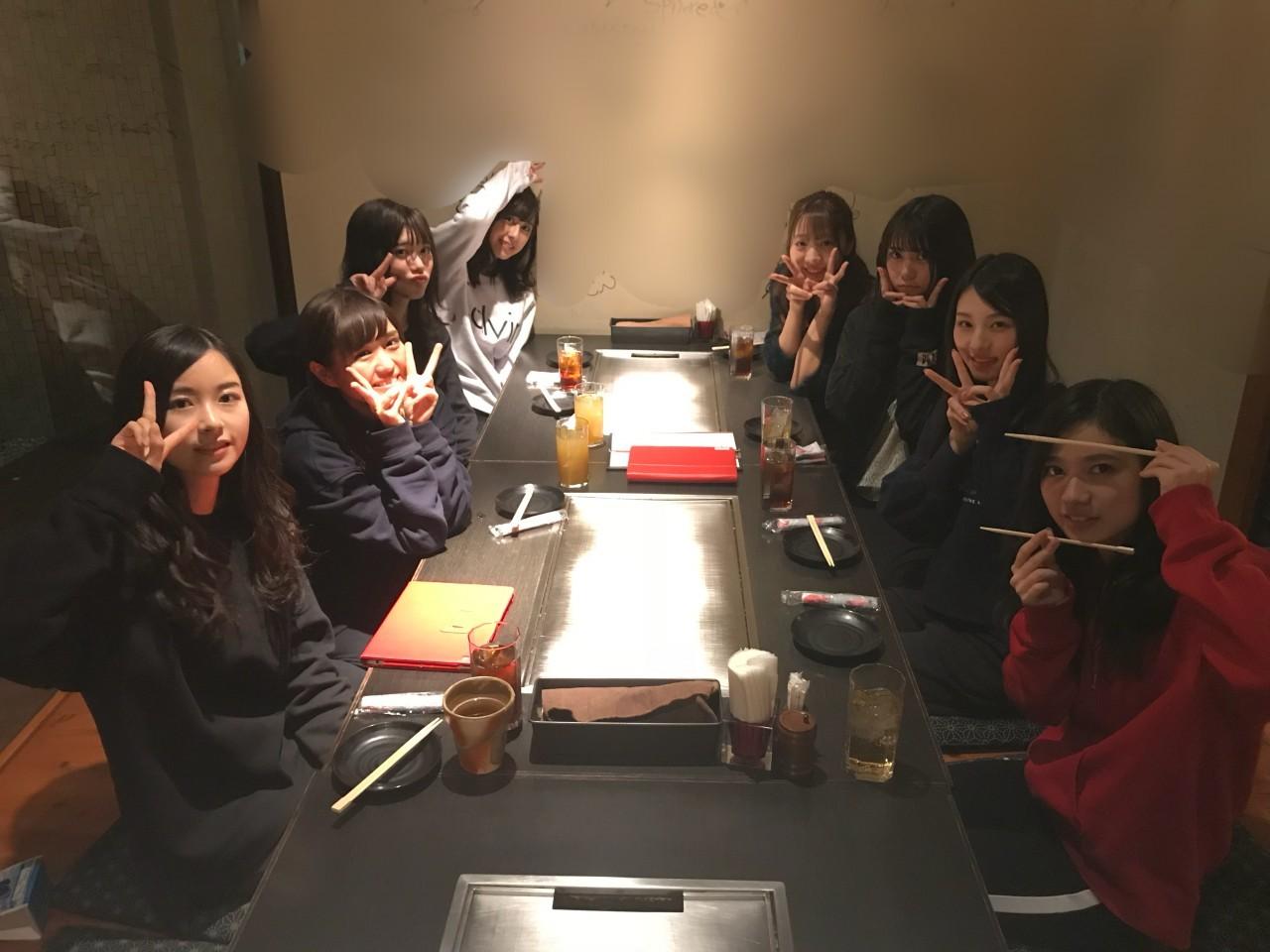 乃木坂46アンダーライブ近畿のご飯会の席順 お好み焼き鉄板焼き系