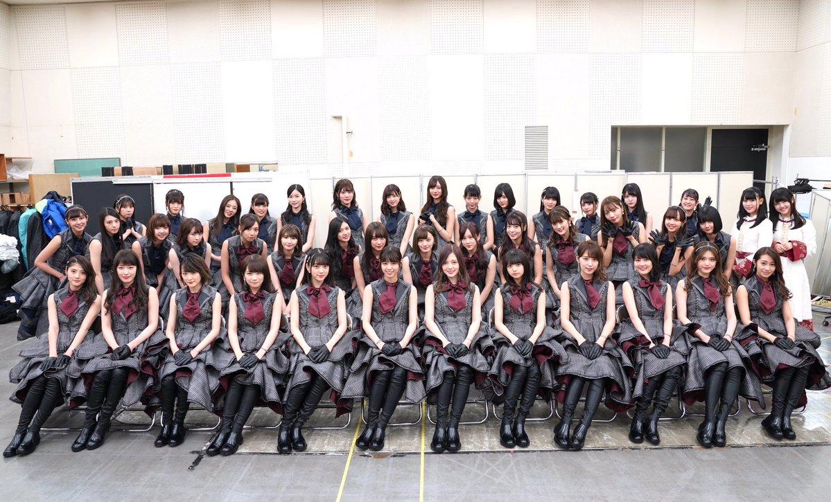 NHK紅白歌合戦 乃木坂46 集合写真