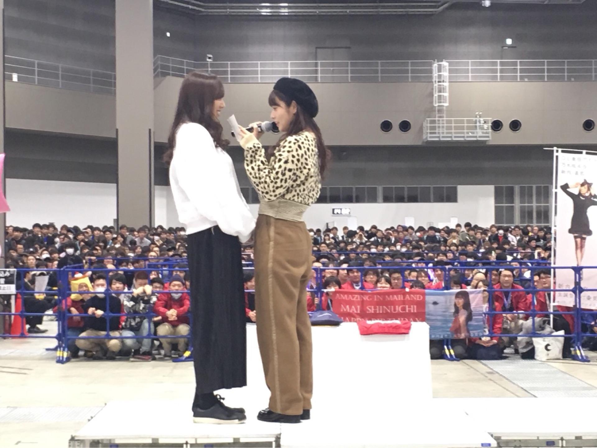 乃木坂46新内眞衣生誕祭2018