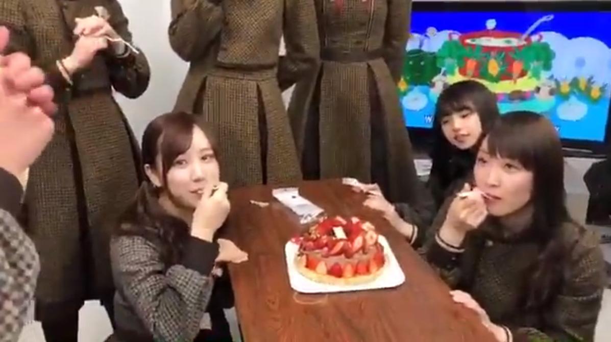 【乃木坂46】星野&高山の誕生日ケーキに誰よりも早くがっつく齋藤飛鳥
