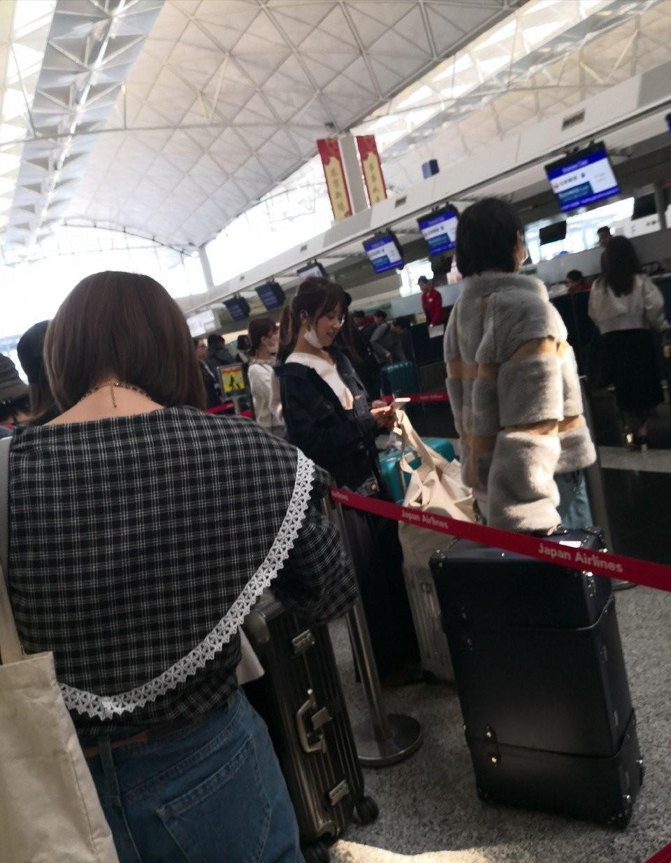 乃木坂46 C3AFA香港2018 エコノミークラス