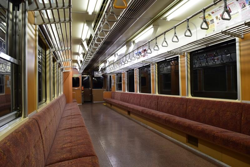 わ鐵車内3