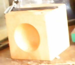 木製サイコロ玉台の加工 (6)