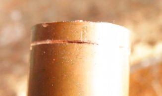銅管を切る