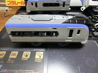 プラレール「E353系量産先行車」の後部車②